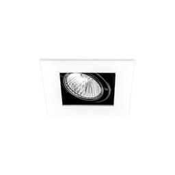 BASICSTERN RECESSED 1xGU10, oprawa wpuszczana, kolor biało-czarny