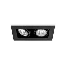 BASICSTERN RECESSED 2xGU10, oprawa wpuszczana, kolor czarny