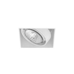 BASICSTERN TRIMLESS 1xGU10, oprawa wpuszczana, kolor biały