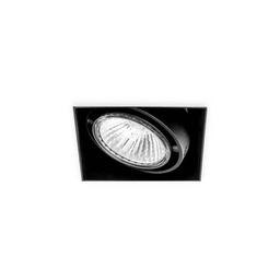 BASICSTERN TRIMLESS 1xGU10, oprawa wpuszczana, kolor czarny
