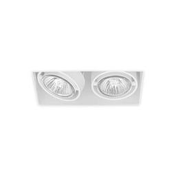 BASICSTERN TRIMLESS 2xGU10, oprawa wpuszczana, kolor biały