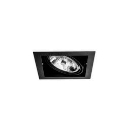 BASICSTERN RECESSED 1xG53, oprawa wpuszczana, kolor czarny