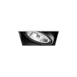 BASICSTERN TRIMLESS 1xG53, oprawa wpuszczana, kolor czarny