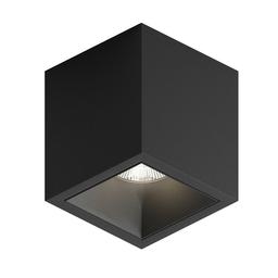 MR CUTE LED, oprawa natynkowa, kolor czarny
