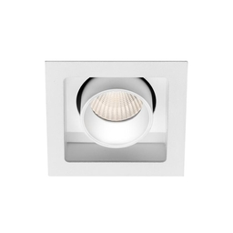 MR HIDE SQUARE LED, oprawa wpuszczana, kolor biały
