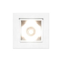 MISTY LED IP44, oprawa wpuszczana, kolor biały