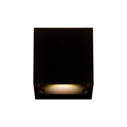 MR SIDE LED, oprawa naścienna, kolor czarny