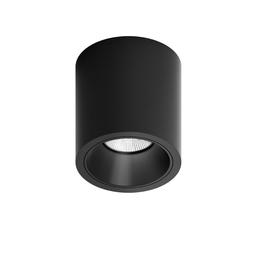 MR CUTE ROUND LED, oprawa natynkowa, kolor czarny