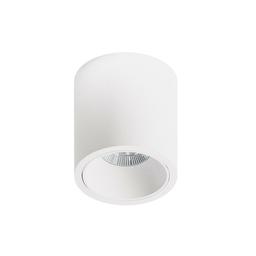MR CUTE ROUND LED, oprawa natynkowa, kolor biały