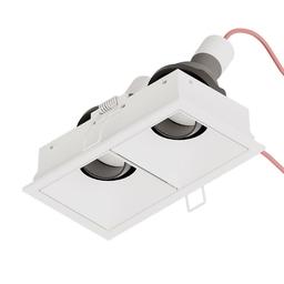 SternLight - BASICSTERN R FRAME square double ramka montażowa podwójna, biały