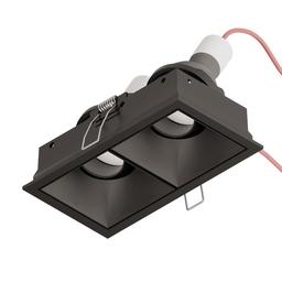 SternLight - BASICSTERN R FRAME square double ramka montażowa podwójna, czarny